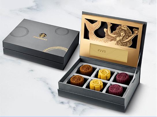 星巴克星情月饼礼盒