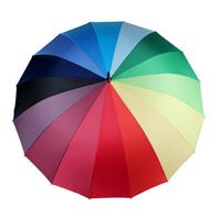 16骨彩虹伞