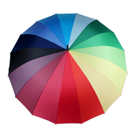 16骨彩虹傘