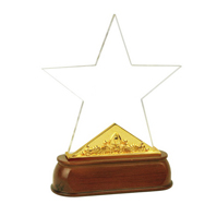 水晶獎杯CUP-H4061