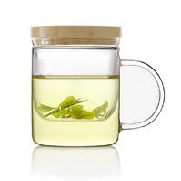 emoi基本生活 竹制玻璃茶杯