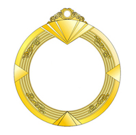 锌合金+亚克力荣誉奖章