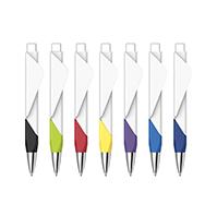 创意圆珠笔 国产在线视频超频企业广告笔 二维码印刷