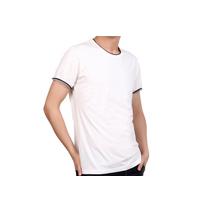 莫代爾棉雙色領 彈力精梳衫 200克 50支紗