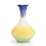 法蓝瓷 艳冠寰宇 红姜花瓷瓶 FZ02857