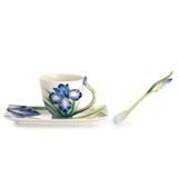 法藍瓷 彩虹之戀 鳶尾花杯盤/湯匙組 FZ02480