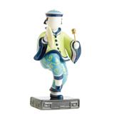 法藍瓷 舞出天地 擺飾(彩)-銅鑼 JB00704