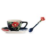 法藍瓷 麗春風華  杯盤/湯匙組 FZ02474
