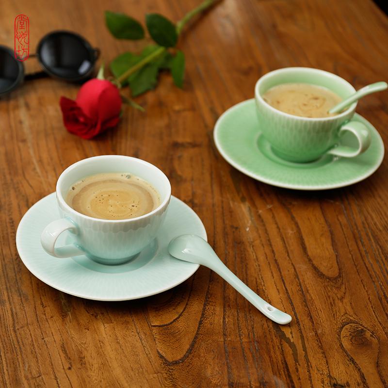 堂悦坊 清平乐咖啡杯套装