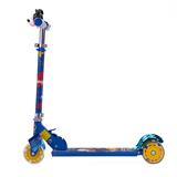 DISNEY 迪士尼儿童轮滑 滑板车米奇 闪光轮三轮 DC1015 蓝色米奇