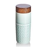 乾唐轩活瓷 101元素随身杯(自在遨游)薄荷绿