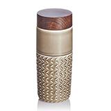乾唐轩活瓷 101元素随身杯(自在遨游)摩卡棕