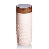 乾唐轩活瓷 101元素随身杯(自在遨游)玫瑰复古粉