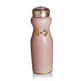 乾唐轩活瓷 华风旗袍随身杯 复古玫瑰粉