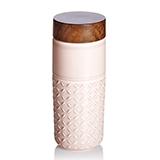 乾唐轩活瓷 101元素随身杯(梦幻星空)玫瑰复古粉
