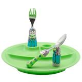 怡饭EAT4FUN二重唱餐具?#22242;?#22871;装(童话公主)