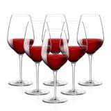 Bormioli Rocco波米歐利 意納多TRE SENSI 葡萄酒杯6只裝