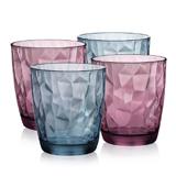 Bormioli Rocco波米欧利 钻石璀璨水杯4件