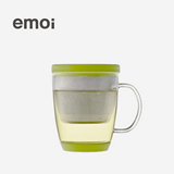 基本生活 emoi 玻璃茶杯-360ml