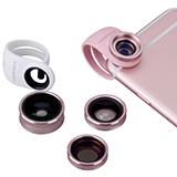 Momax  X-Lens 4合1精英手機鏡頭套裝 CAM4