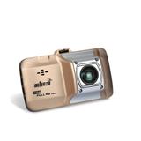 第1现场A903 行车记录仪 1080P高清 锌合金材质 170度广角 金色