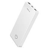 美逸 10000毫安 移动电源/充电宝 双USB输出聚合物 I10 白色