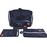 凱倫弗收納袋行李箱衣服整理包旅游必備衣物內衣整理袋五件套裝