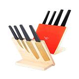 阿摩廚房 匠韻 亞克力底座五件套刀具