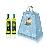 意大利進口 阿茜婭 特級初榨橄欖油 艾雅禮盒500ml*2 簡裝