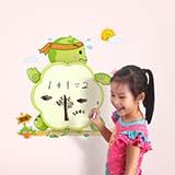 生活演异花颜墙贴儿童画板磁性写字板 宝宝益智玩具 婴幼儿涂鸦彩色黑板