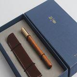清朴堂-知书单笔 知书礼盒红木笔
