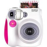 富士 Checky mini 7s拍立得相機 粉色