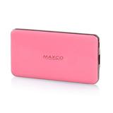 MAXCO美能格 刀锋5000移动电源 淡雅粉