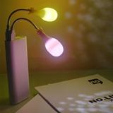 生活演異 OW導彈小夜燈USB接口智能燈