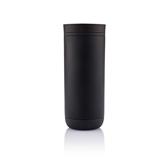 荷蘭XD Design  Clik雙層按壓式杯225ml 黑色