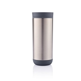 荷蘭XD Design Clik雙層按壓式杯225ml 灰色