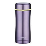 膳魔師THERMOS不銹鋼保溫杯紫色400ml 泡茶杯辦公禮品水杯TCCG-400