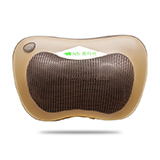 澳玛仕(AOMAS)按摩枕  车载颈椎腰部按摩器 按摩垫 卡其色