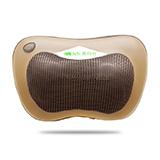 澳瑪仕(AOMAS)按摩枕  車載頸椎腰部按摩器 按摩墊 卡其色