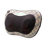 澳玛仕(AOMAS)按摩枕  车载颈椎腰部按摩器 按摩垫 英伦格