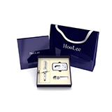 HooLee商務禮品套裝男士 筆鑰匙扣名片夾套裝HO03