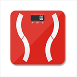 乐雅美 电子秤人体秤健康体重秤 EF821
