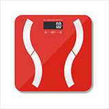 樂雅美 電子秤人體秤健康體重秤 EF821