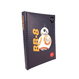 星球大战(STAR WARS)系列 转动发声发光笔记本 BB-8机器人