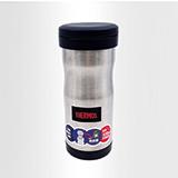 膳魔師THERMOS黑色370ml 真空保溫杯濾網泡茶杯時尚水杯JML-370
