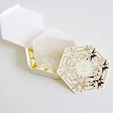 纸现场Paperlive 非线性宇宙创意几何图案特种纸杯垫