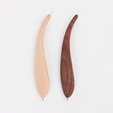 本來設計 創意木質羽毛筆 定制款