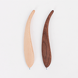 本来设计 创意木质羽毛笔 定制款