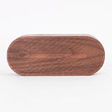 本來設計BELA DESIGN 圓角木質音樂盒 黑胡桃木