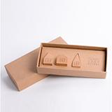 本来设计 创意屋顶木质吸铁石冰箱磁性贴
